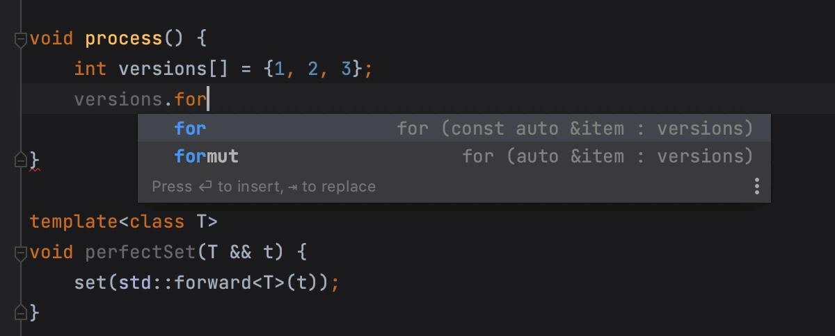 Postfix templates