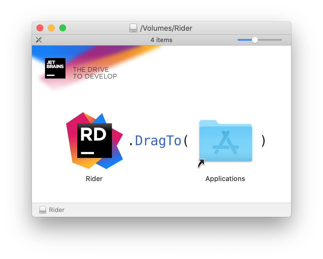 Rider4UE on Mac