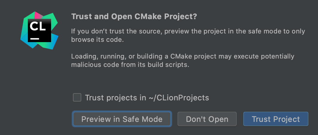 Trusted Projects