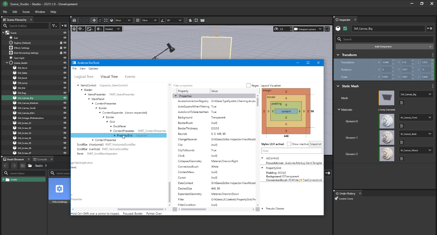Avalonia Developer Tools