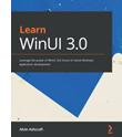 WinUI 3.0 book cover