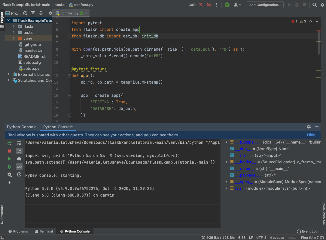 CWM_Python_Console