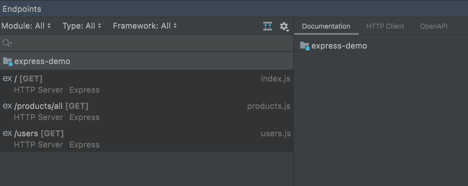 Frameworks - Better support for microservices JS/TS