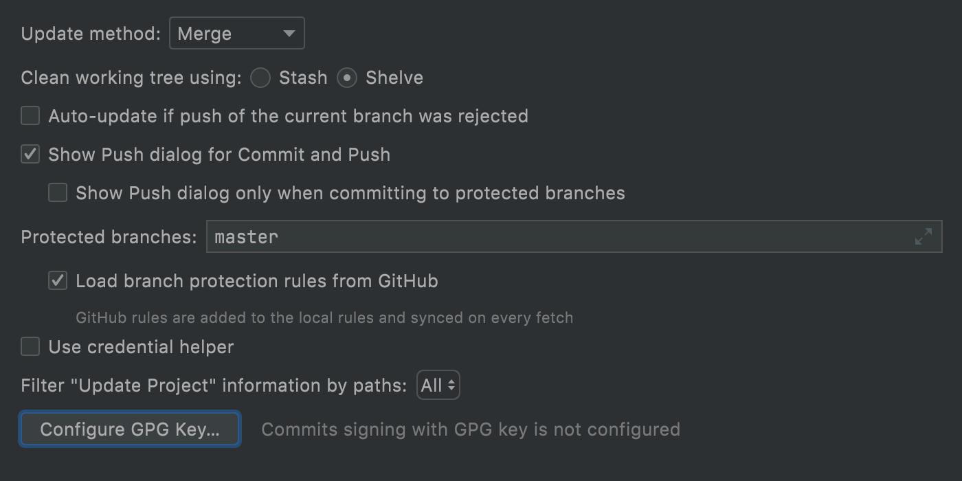 GPG-key-configuration-in-webstorm-settings