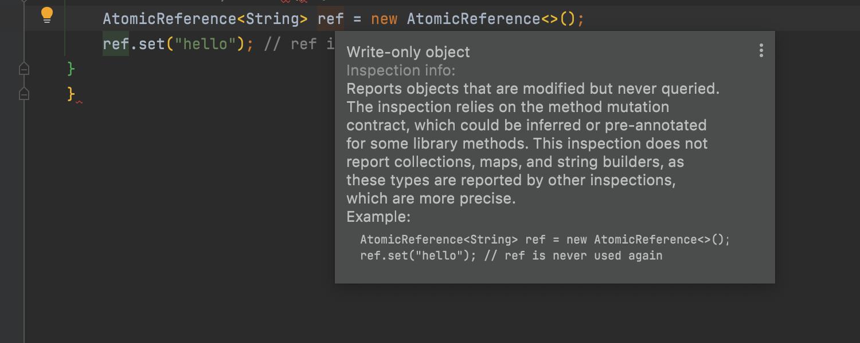 Java Inspection