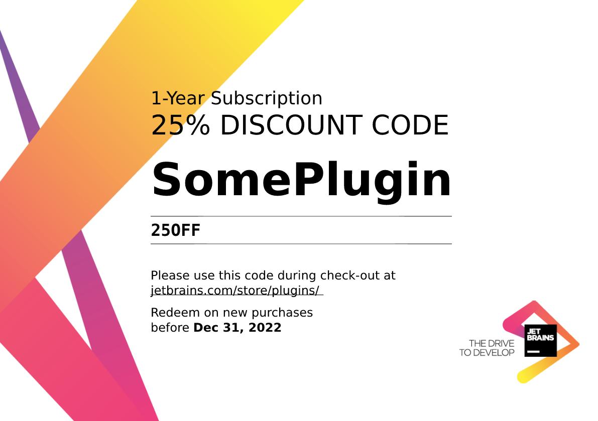 Plugin discount coupon