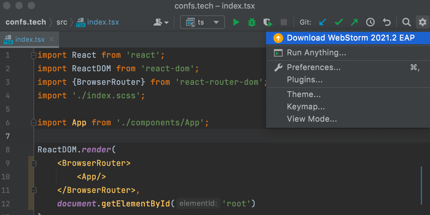 update-notification-from-toolbox-in-webstorm