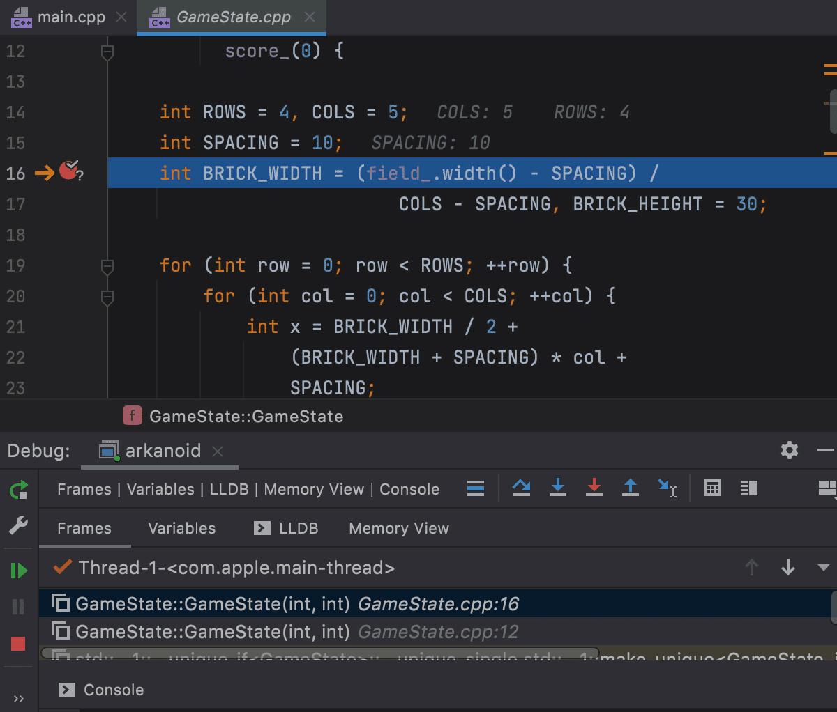 Preview Tab in debugger