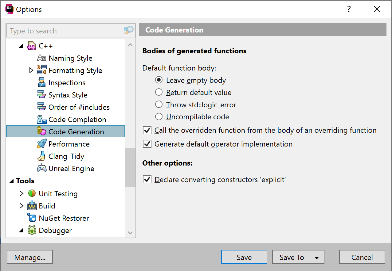 Code Editing | C++ | Code Generation