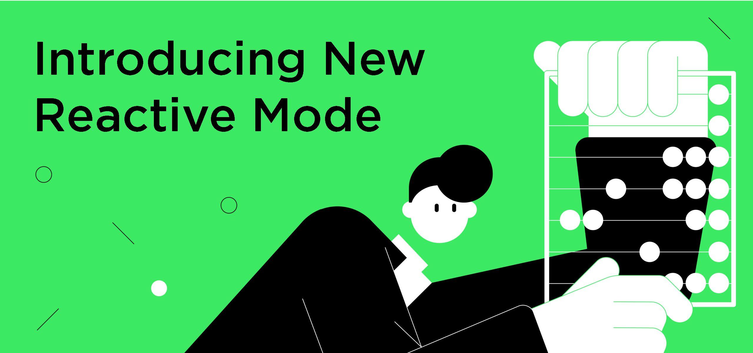 Reactive mode in Datalore