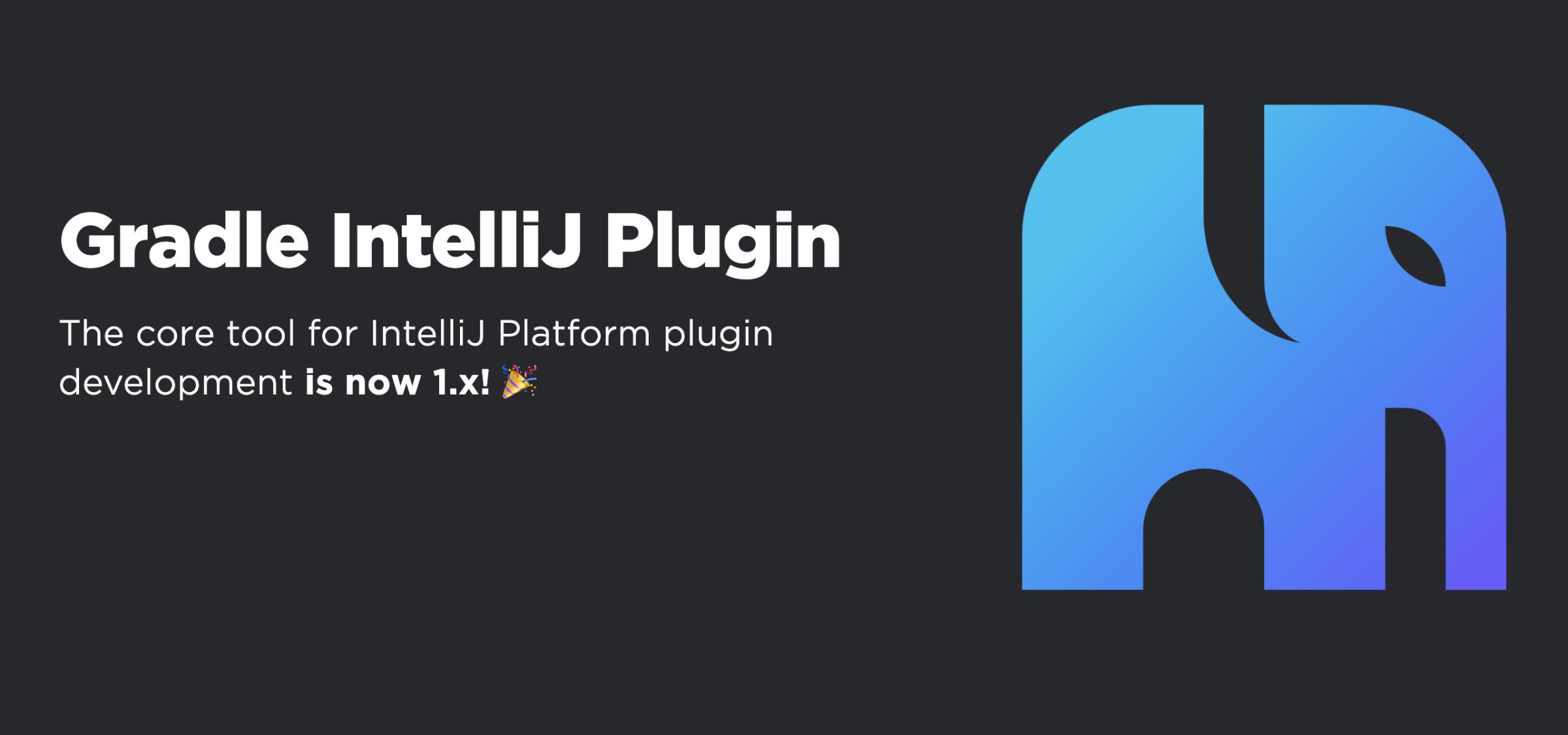 The Gradle IntelliJ Plugin