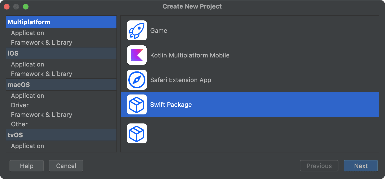 Swift Package template