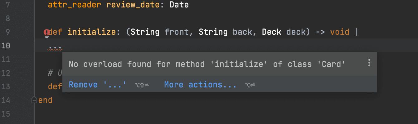 RBS: method overload error