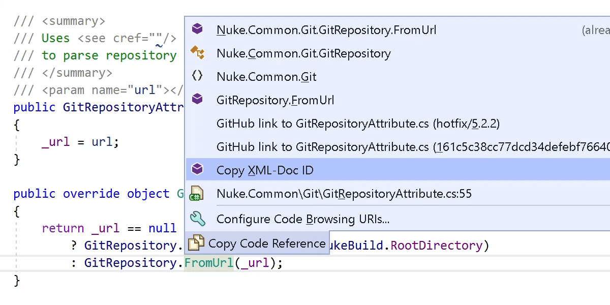Copy XML-Doc ID