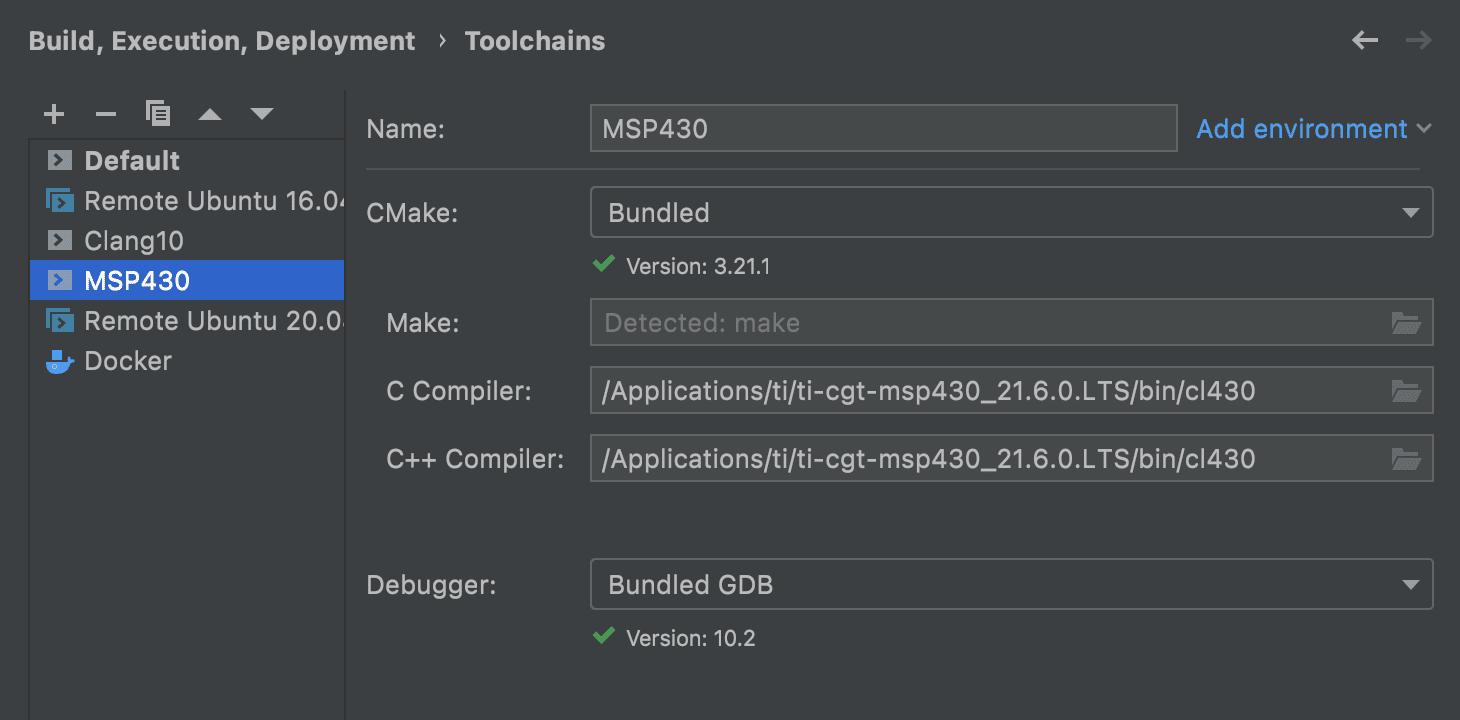Custom Compiler toolchain